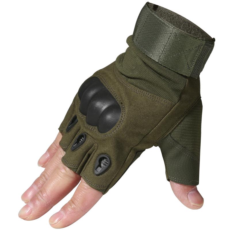 JD Коллекция Обновление зеленый половина палец дефолт
