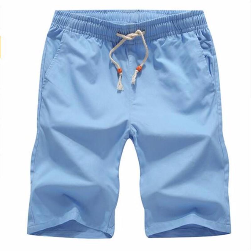 AILOOGE Голубое небо L shengui дворянские дорогие мужские летние льняные дышащие случайные шорты голубой l hwddk606