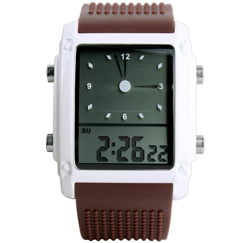 SKMEI Коричневый skmei спортивные часы кварц желтый 9106