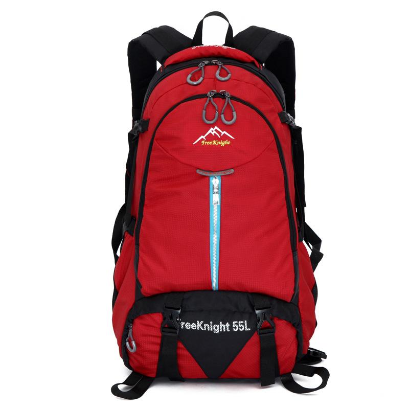 AEROLINE Красный цвет фигура прыжок tuyue грудь мешок рюкзак рюкзак рюкзак мешок плеча после поездки на открытом воздухе досуг сумка рюкзак прилив карманы