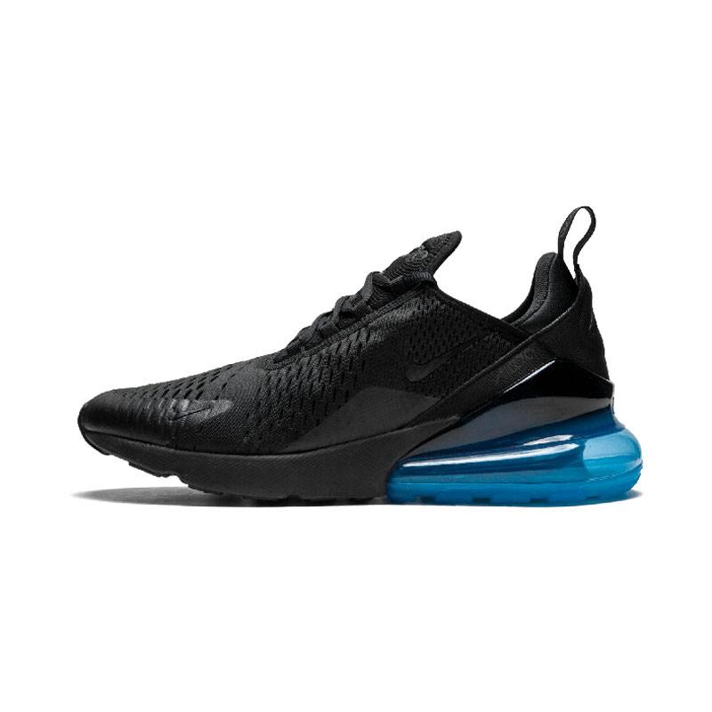Nike Мужская обувь Спортивная обувь Открытая обувь NIKE Черный синий 42 фото