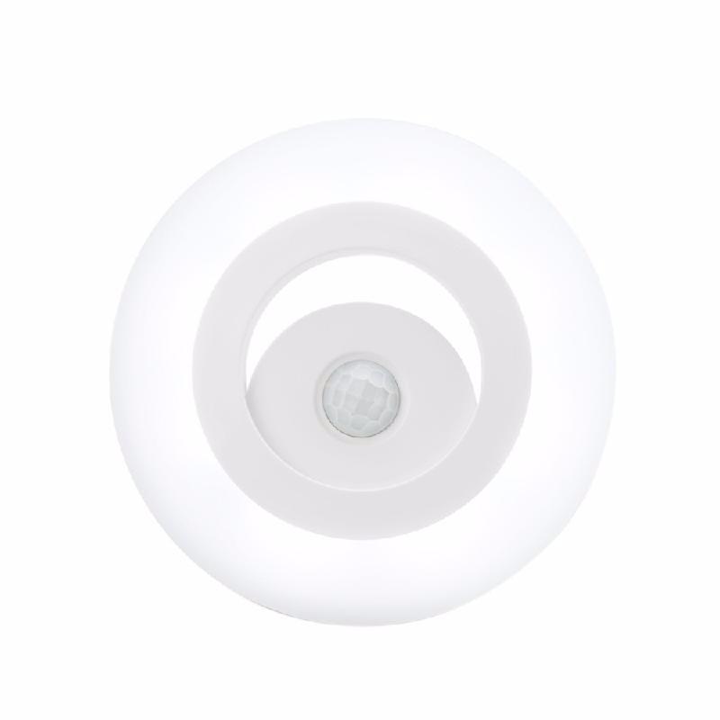 TOMSHINE Бежевый julelys с батарейным питанием беспроводный датчик движения pir светодиодный ночник для шкафа шкаф гардеробная кухонная плита asile toliet night lam