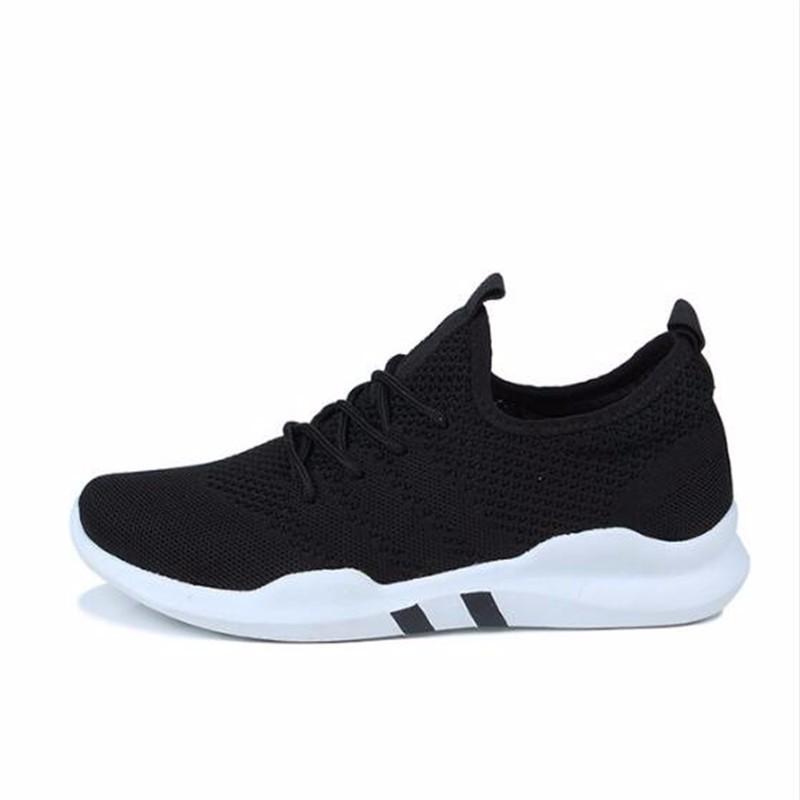 AILOOGE ОДИН черный 10 2017 wholesale hot breathable mesh man casual shoes flats drive casual shoes men shoes zapatillas deportivas hombre mujer