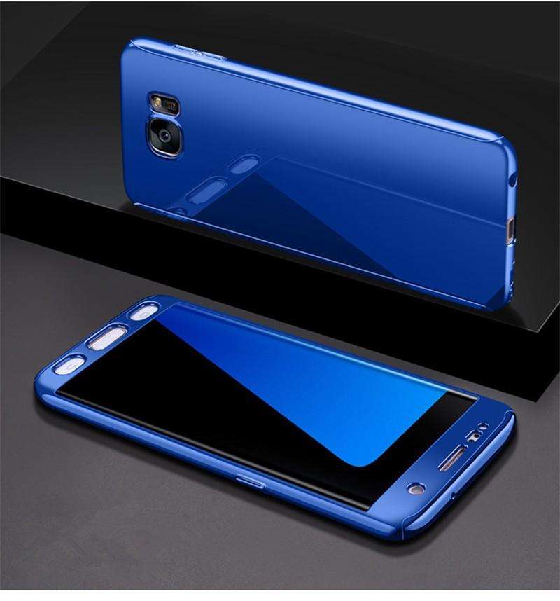 GANGXUN Blue Samsung Galaxy S7 red line ibox crystal чехол для samsung galaxy s7 edge clear