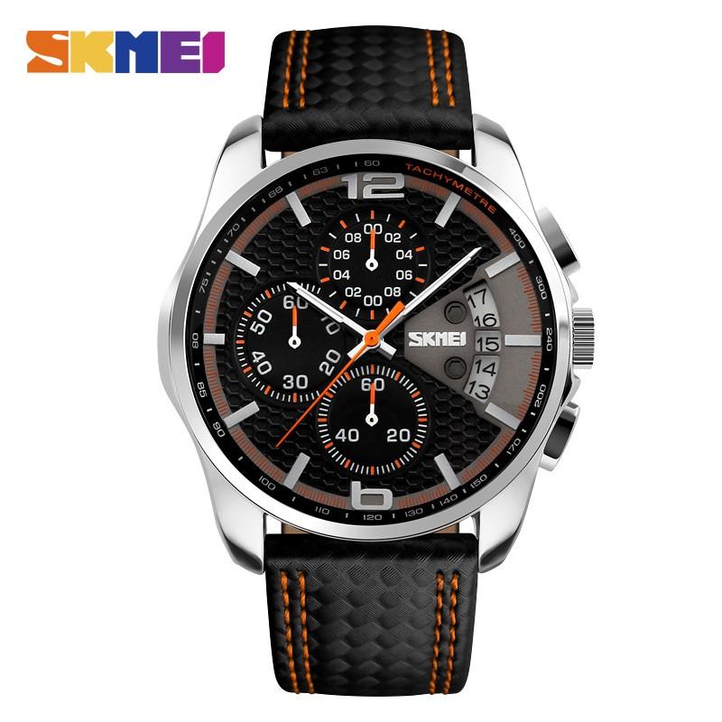 SKMEI Оранжевый skmei спортивные часы кварц желтый 9106