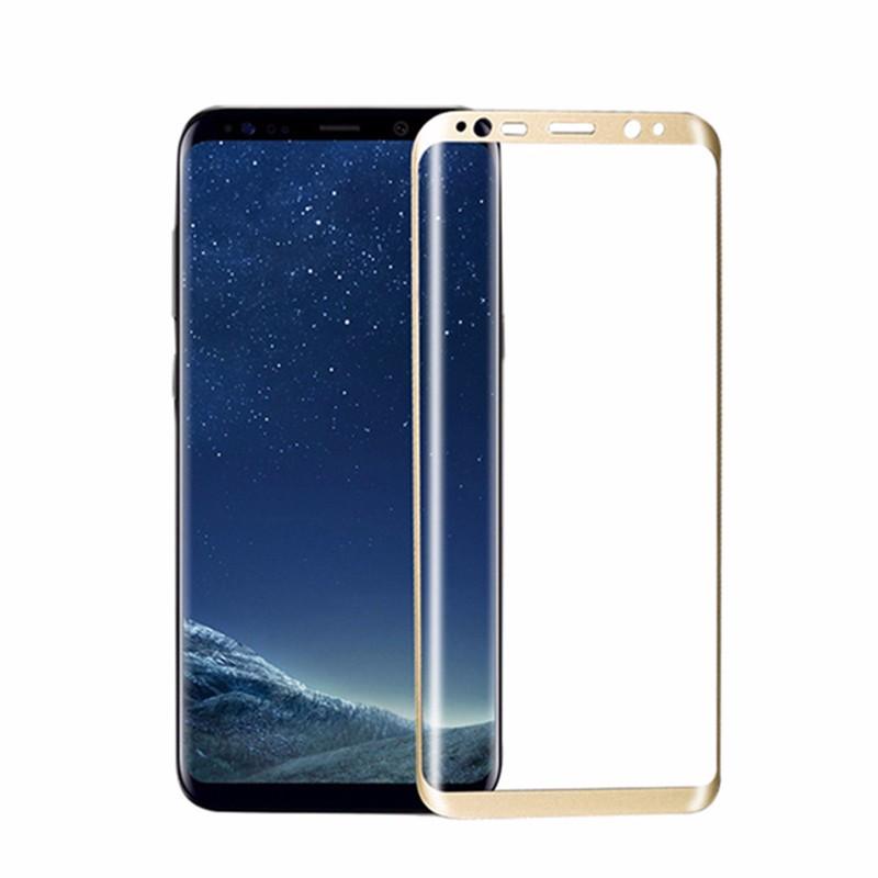 goowiiz Золото Samsung Galaxy S8 пленка на экран samsung et fg950ctegru для galaxy s8