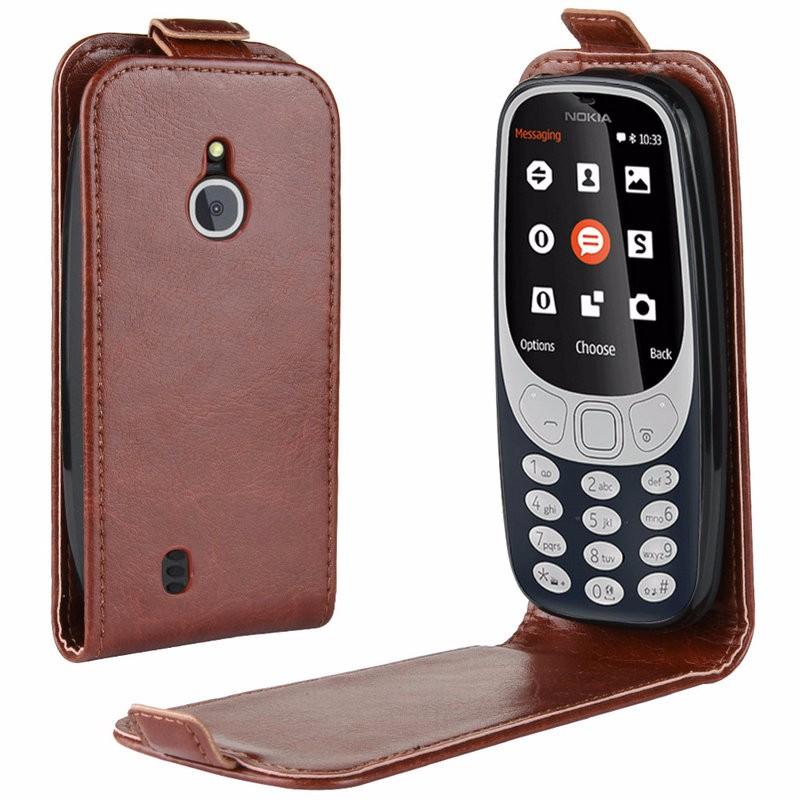 WIERSS коричневый для Nokia 3310 3G 4G nokia 3310 ta 1030 серый смартфон