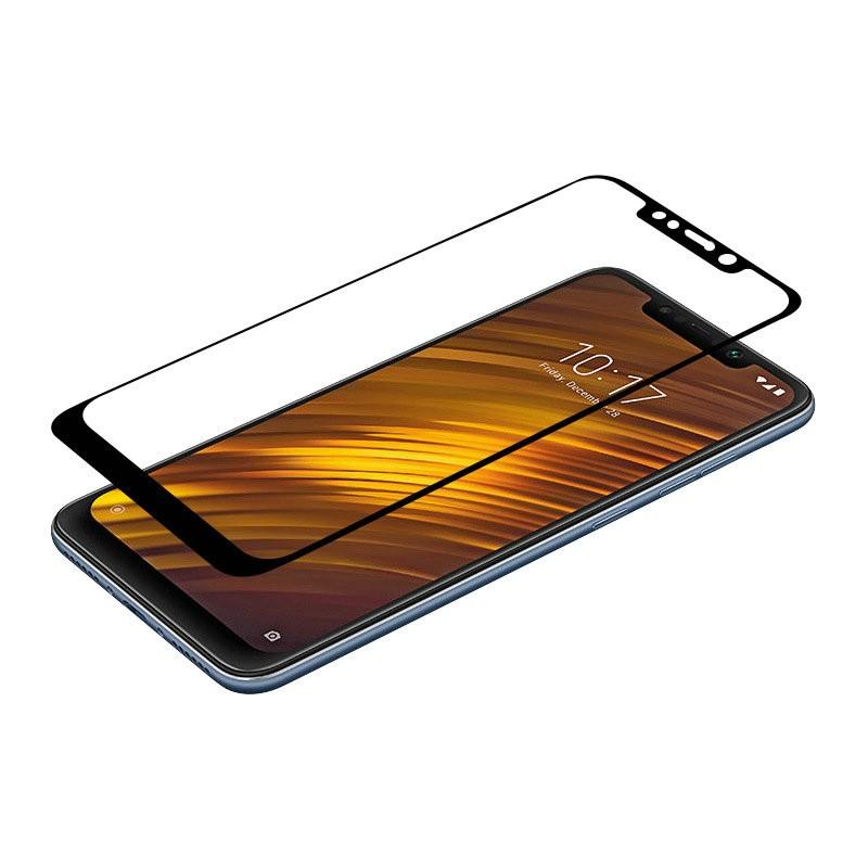 WIERSS черный для Xiaomi Poco F1 для Xiaomi Pocophone F1 Закаленное стекло Screen Protector