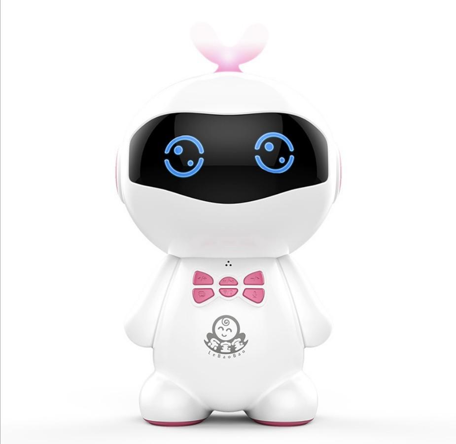 ASLED розовый tbz дней bozhi хай тек может wang ai интеллектуальный бионический робот интеллектуальные бионические машины собака головоломки детские игрушки