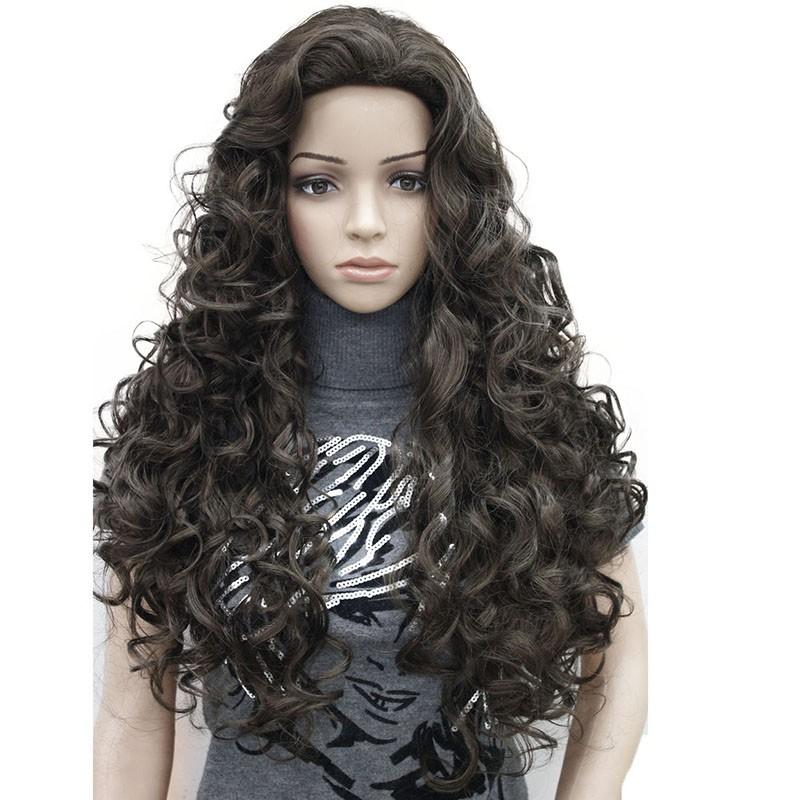 Длинные волнистые светлые парики длинные волнистые черных париках длинные кудряв StrongBeauty 6 Длинный фото