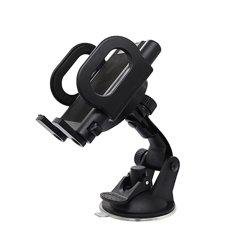 MyMei convenient universal car mounted suction cup holder for cellphone black red