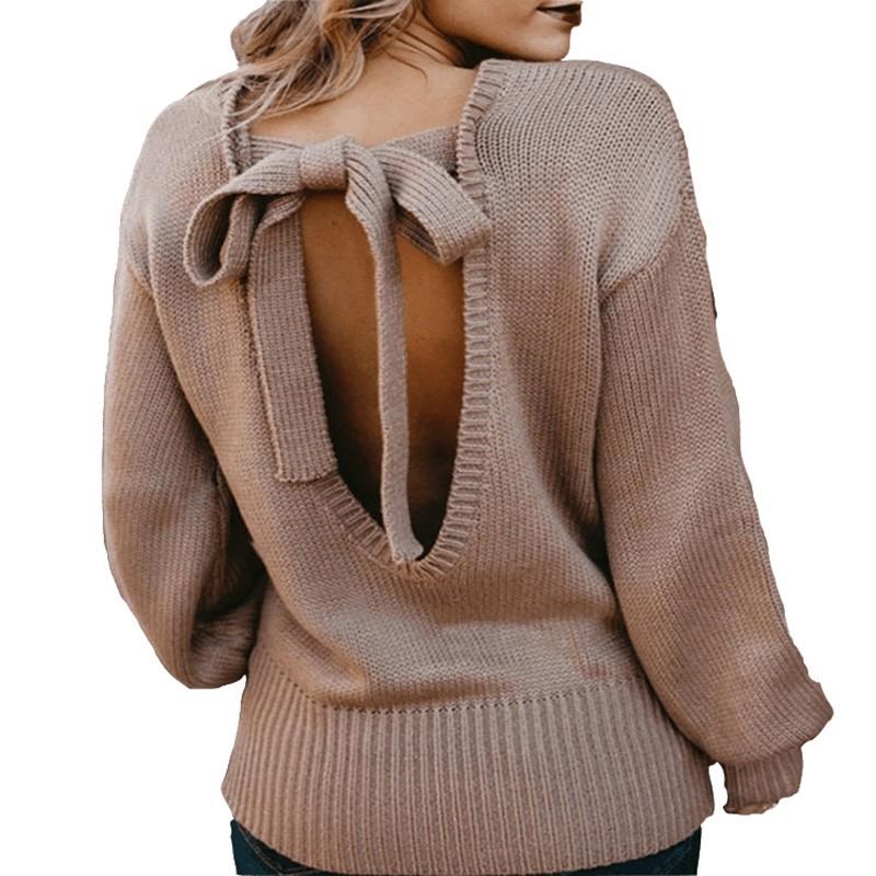 Повседневный свитер xsby розовый XL фото