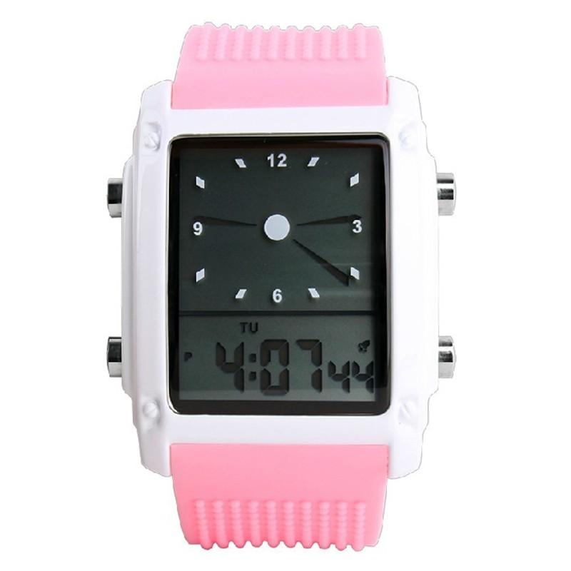 SKMEI Розовый skmei спортивные часы кварц желтый 9106