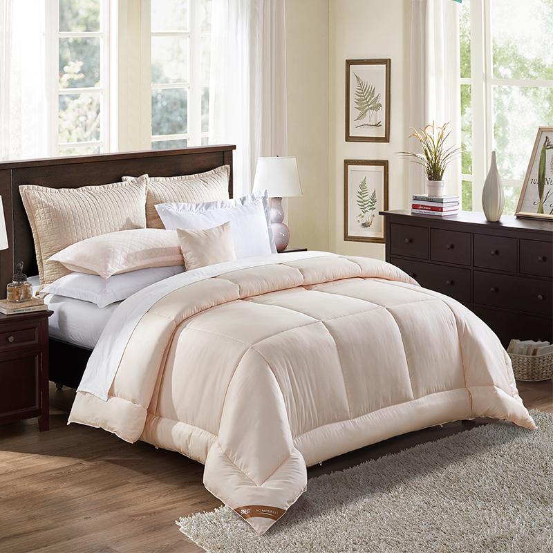 JD Коллекция В месте определения волокна является мягкой пружина нефрит порошок 150 215cm jiabai летнее легкое одеяло пуховое одеяло 70