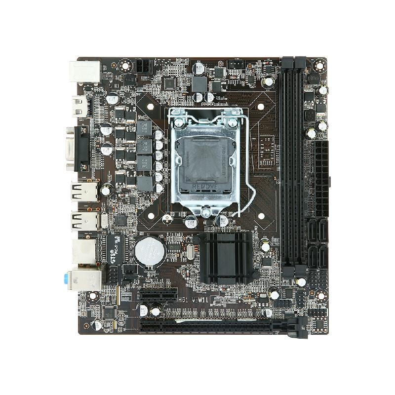 Seagate Black asus p8h61 m le desktop motherboard h61 socket lga 1155 i3 i5 i7 ddr3 16g uatx uefi bios original used mainboard on sale