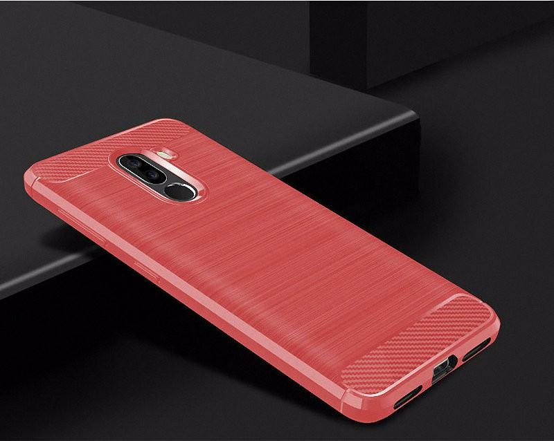 WIERSS красный для Xiaomi Poco F1 WIERSS Защитная крышка для корпуса телефона