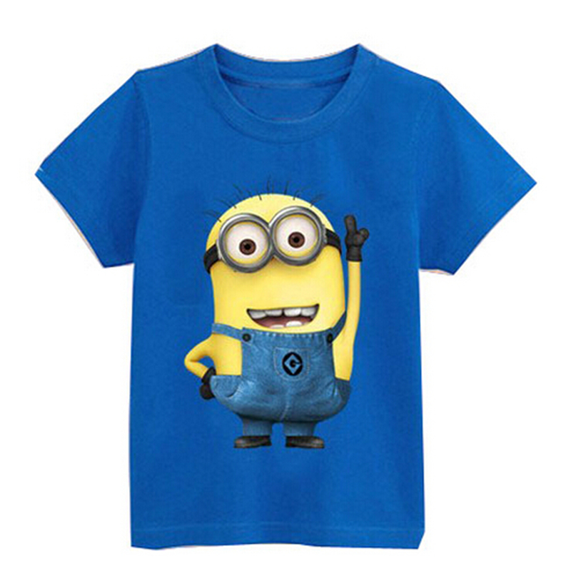weonedream Синий цвет 6T рубашки футболки для детей