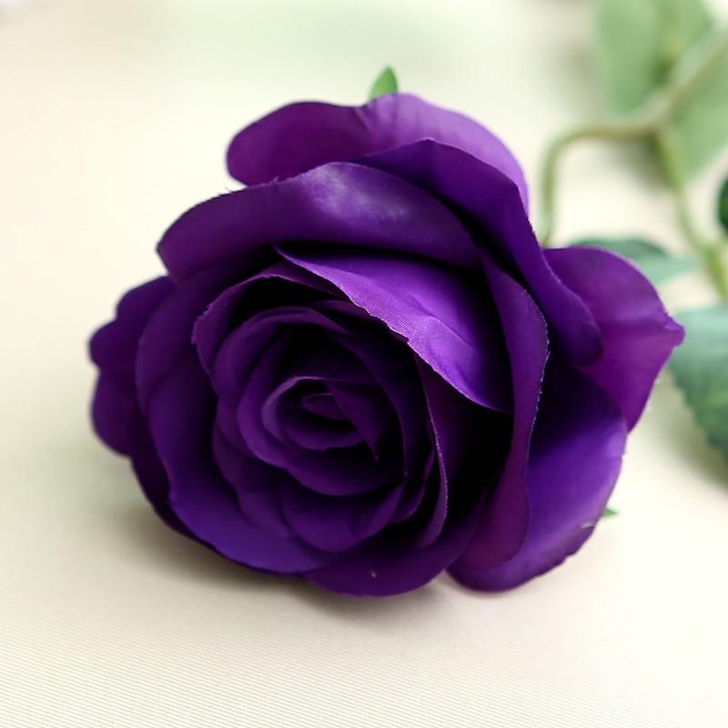 Искусственный цветок из роз цветок искусственный цветок домашнее свадебное украшение engineerin bubble wish Пурпурный фото