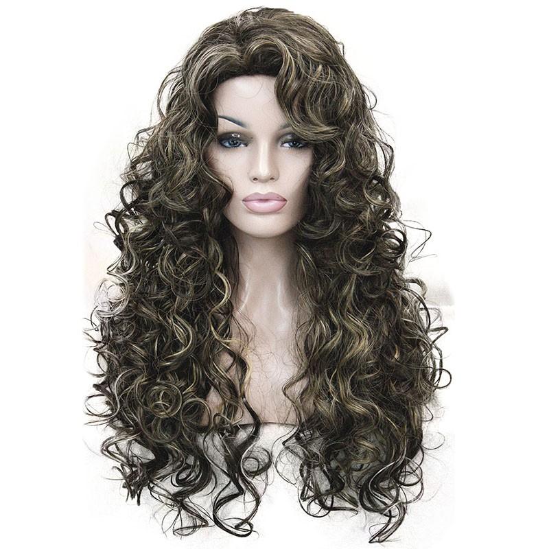 Длинные волнистые светлые парики длинные волнистые черных париках длинные кудряв StrongBeauty 8TT124 Длинный фото