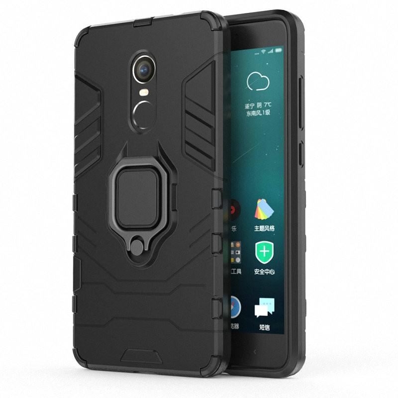 Для Xiaomi Redmi Примечание 4 Кольцо Дело Автомобиль Держатель Телефонный чехол WIERSS черный Redmi Примечание 4 фото