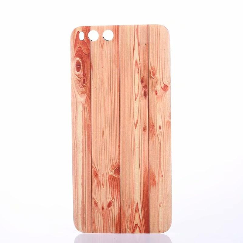 Оригинальный корпус для Xiaomi Mi 6 Mi6 Xiaomi6 Деревянная пластиковая задняя крышка для батареек Fecoprior розовый Xiaomi 6 фото