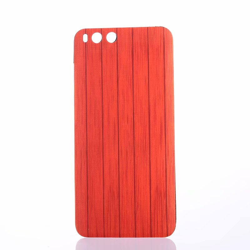 Оригинальный корпус для Xiaomi Mi 6 Mi6 Xiaomi6 Деревянная пластиковая задняя крышка для батареек Fecoprior красный Xiaomi 6 фото
