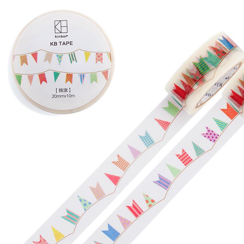 JD Коллекция 20мм 10м баннер дефолт 2017 new 70mm 7m high quality classical beauty girls japanese washi decorative adhesive tape diy masking paper tape sticker gift