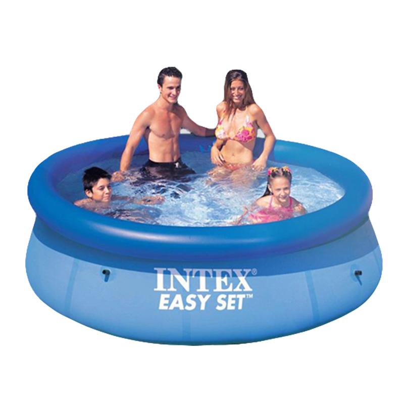 JD Коллекция 244 76см бассейн с надувным верхним кольцом 244х76см intex 28110