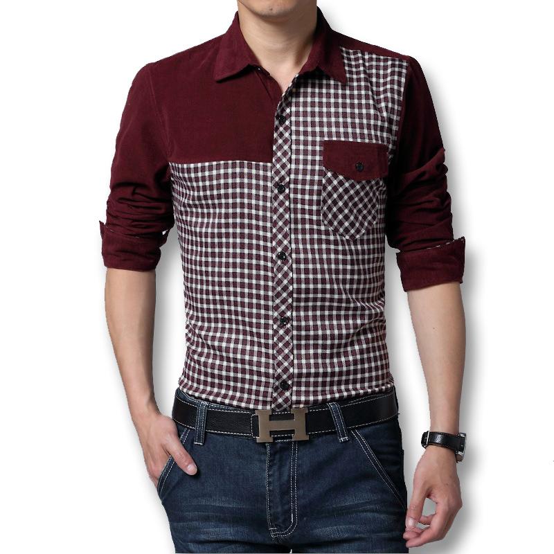 SRLD Темно-красный Номер XL yu zhaolin с длинными рукавами рубашки мужской бизнес случайный цвет сплошной рубашки c002 темно зеленый 180 xl