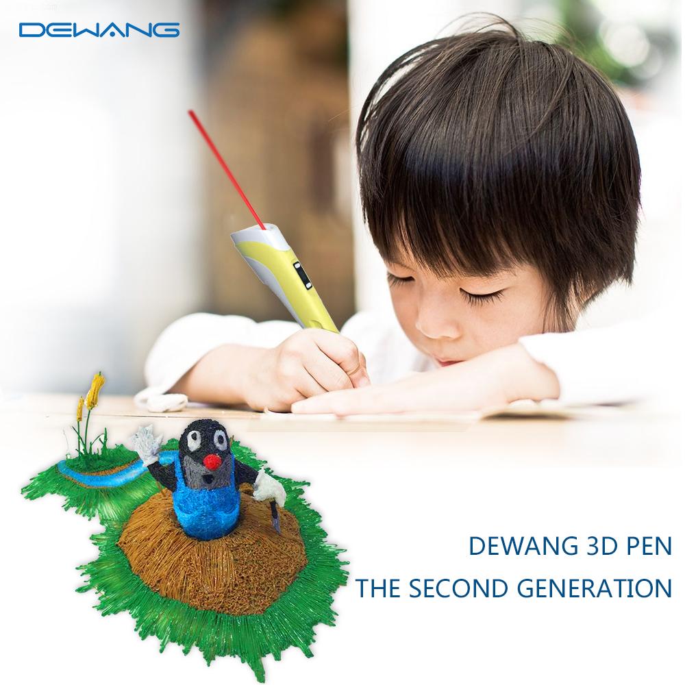 DEWANG желтый 3D Ручка RP-100B
