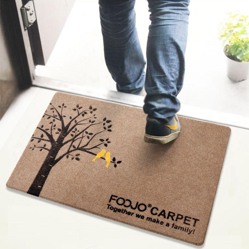 JD Коллекция Doormat 80 50см дефолт богатый рейтинг foojo кухня моющийся нескользящие коврики для вытирания ног 45 120см черный фон с синими цветами