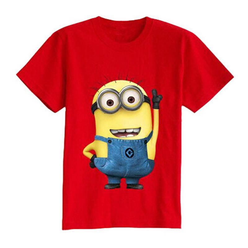 weonedream Красный цвет 5T рубашки футболки для детей