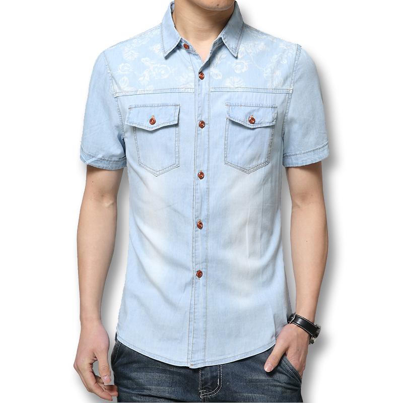 SRLD голубой Номер XXXL рубашки