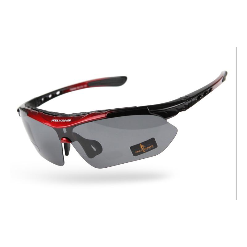 FREE SOLDIER красный и черный free soldier спортивные очки с поляризованным светом тактические пуленепробиваемые очки москва склад