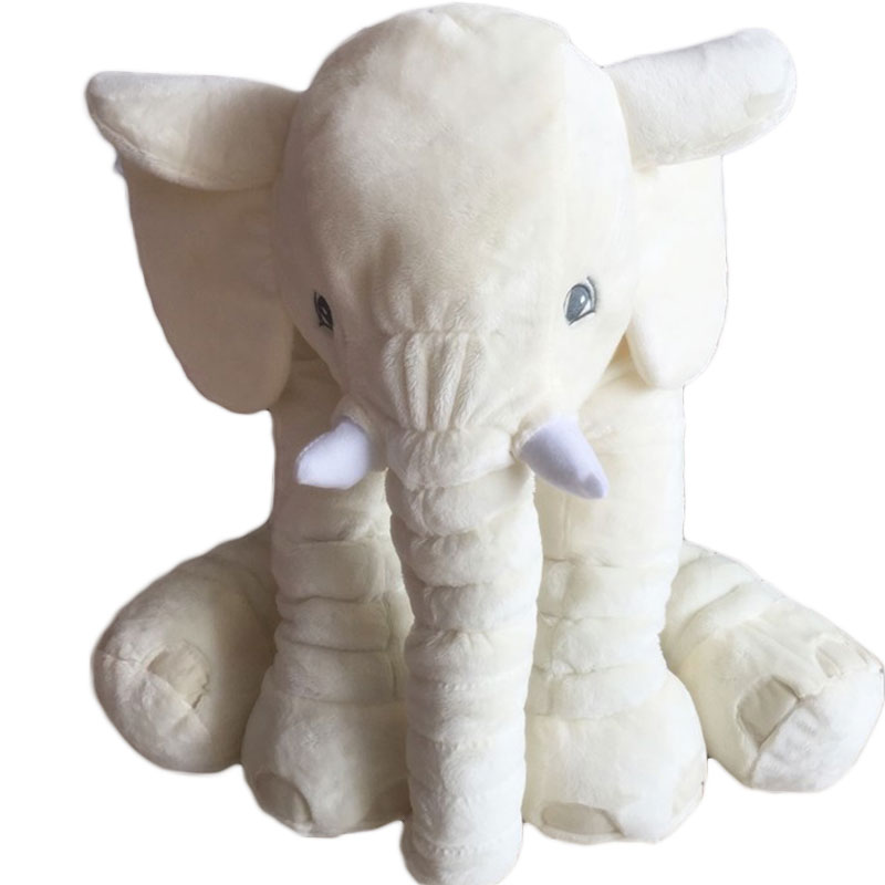 MyMei бежевый fulljion baby stuffed plush animals elephant toys for children kawaii dolls infant sleeping back cushion stuffed pillow gifts