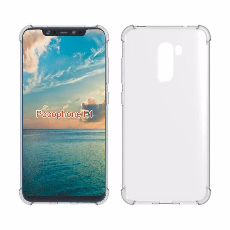 WIERSS прозрачный для Xiaomi Poco F1 Антикварный телефонный чехол для Xiaomi Pocophone F1