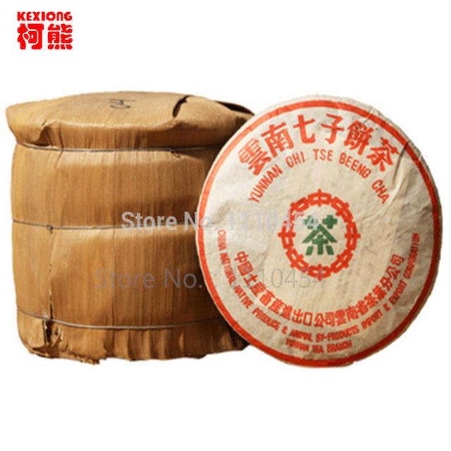 HelloYoung kungfu pu er tea sword fight yiwu mahei древний puerh pu erh puer 2016 сырье 357g