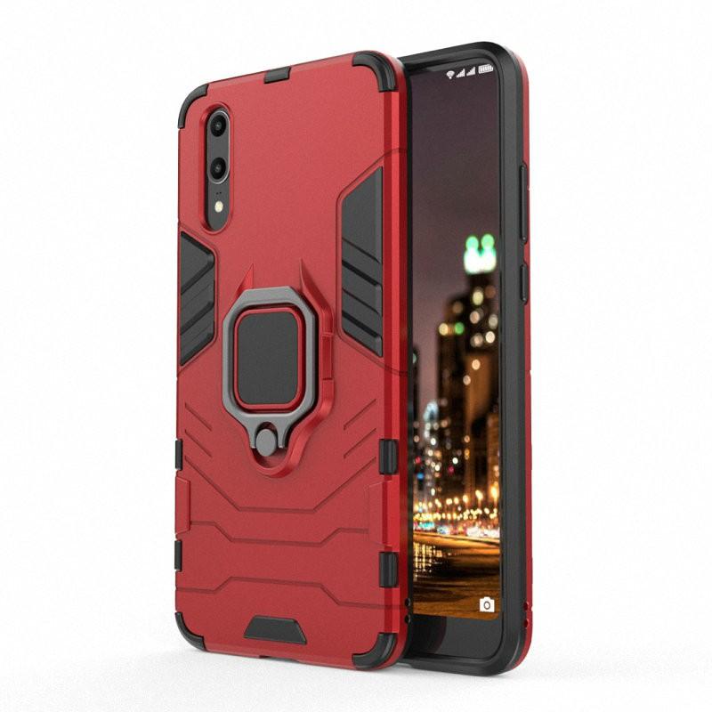 Для телефона Huawei P20 с футляром для мобильного телефона с чехлом для мобильного телефона Case Case для мобильного телефона Huawei P20 Lite для корпуса Huawei P20 Pro для жестких досок для чехлов Capa Coque WIERSS красный для Huawei P20 Pro фото