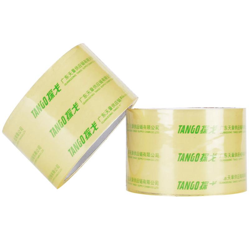 JD Коллекция танго tango высокое качество очень прозрачная уплотнительная лента упаковочная лента 60мм 100y 91 4 метров глава 5 дней пакет производится