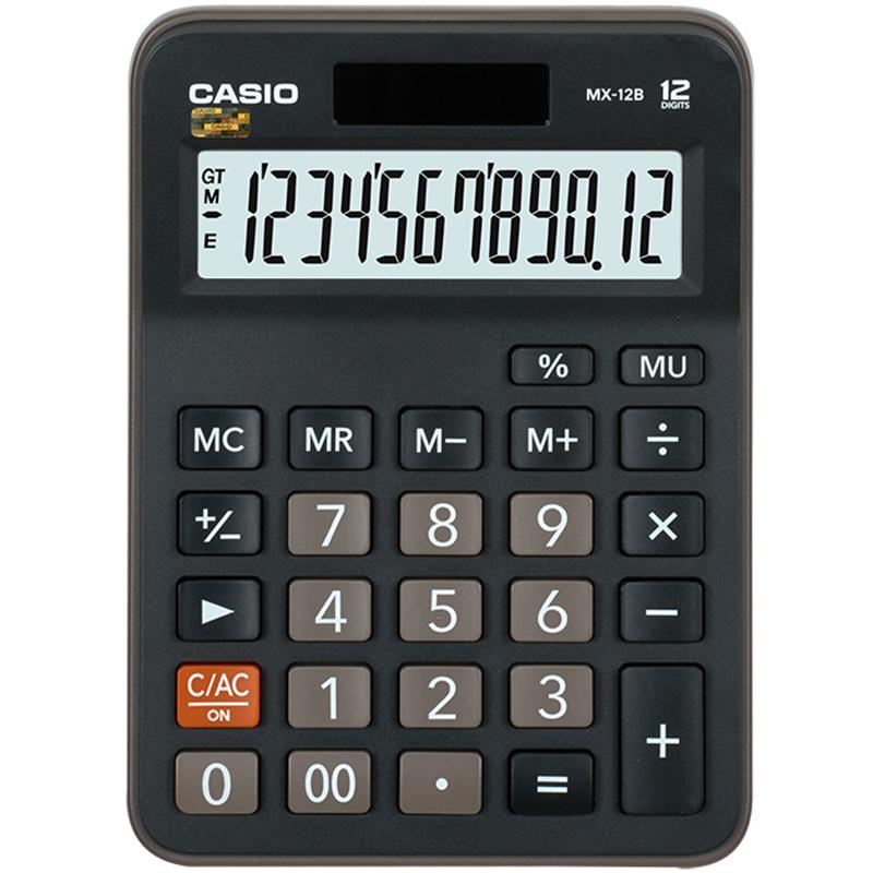 JD Коллекция дефолт дефолт калькулятор casio mx 12b компакт настольный