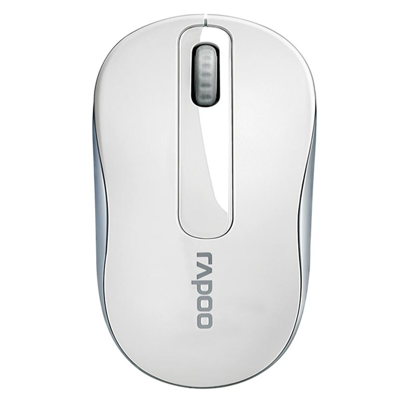 Rapoo M218 Белый Беспроводная мышь rapoo n1162 белый