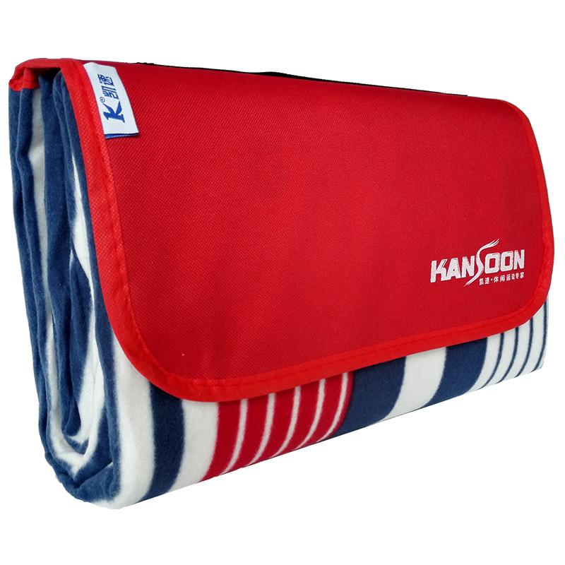 KANSOON Красные и синие полосы 20X20 м влагостойкий коврик xin ya