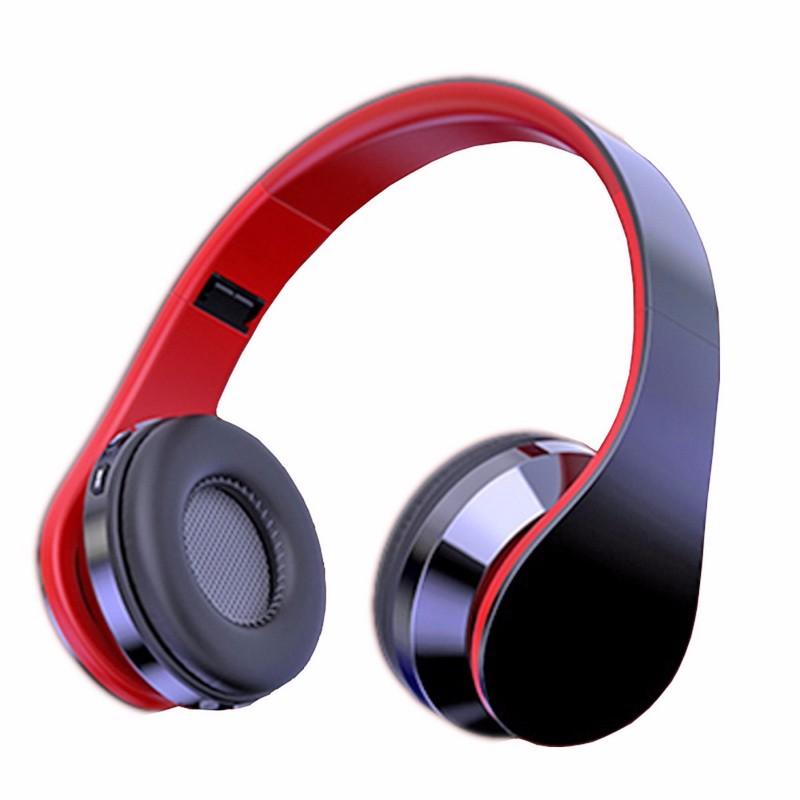 Гарнитура с микрофоном DiPRO Черный и красный С микрофоном фото