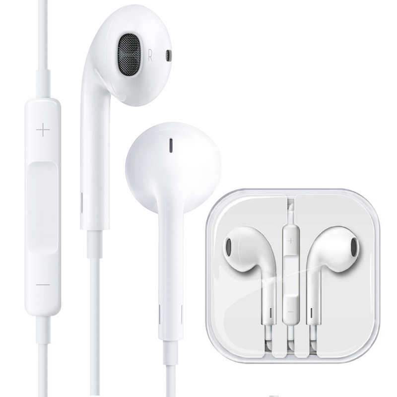 JD Коллекция Apple телефон гарнитура белый дефолт применяемый apple iphone5s 6s plus air capshi apple провод наушников телефона гарнитура с микрофоном mini2 3 4