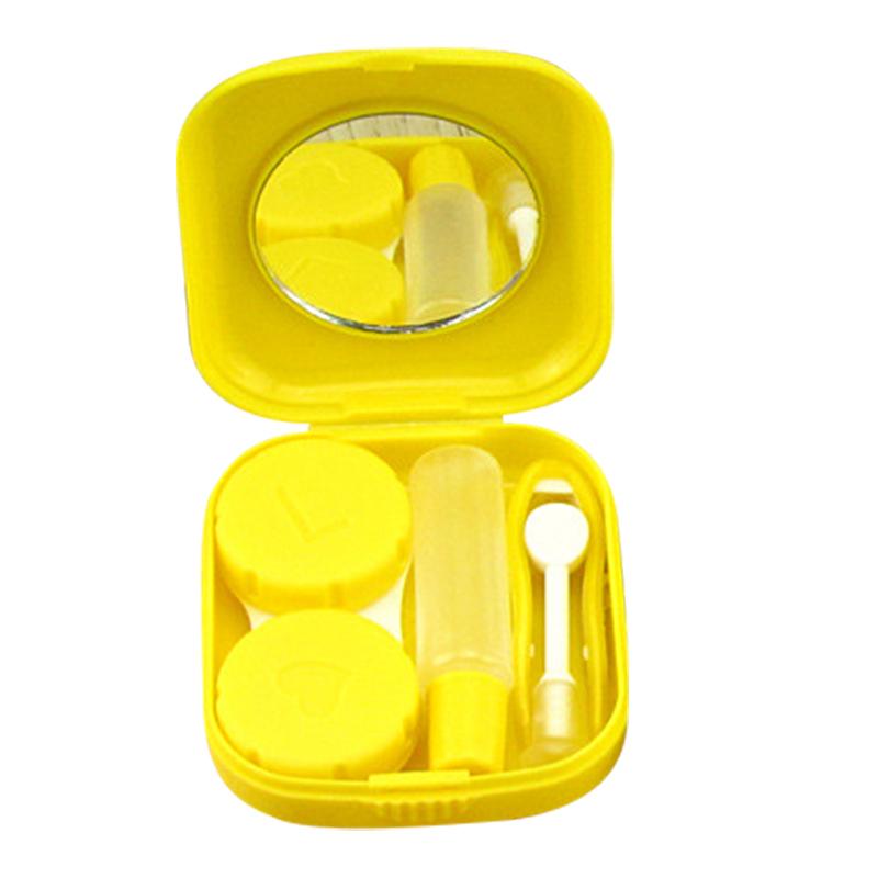 MyMei Жёлтый цвет 3 pocket anti shock lens filter storage carrying case bag black