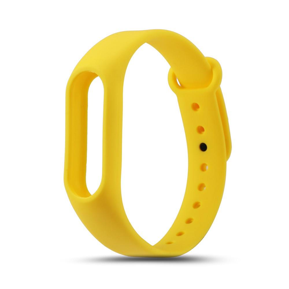 Красочный силиконовый ремешок для Xiaomi Mi Band 2 мили band 2 браслет mi band 2 ремешок chkj желтый Один размер фото