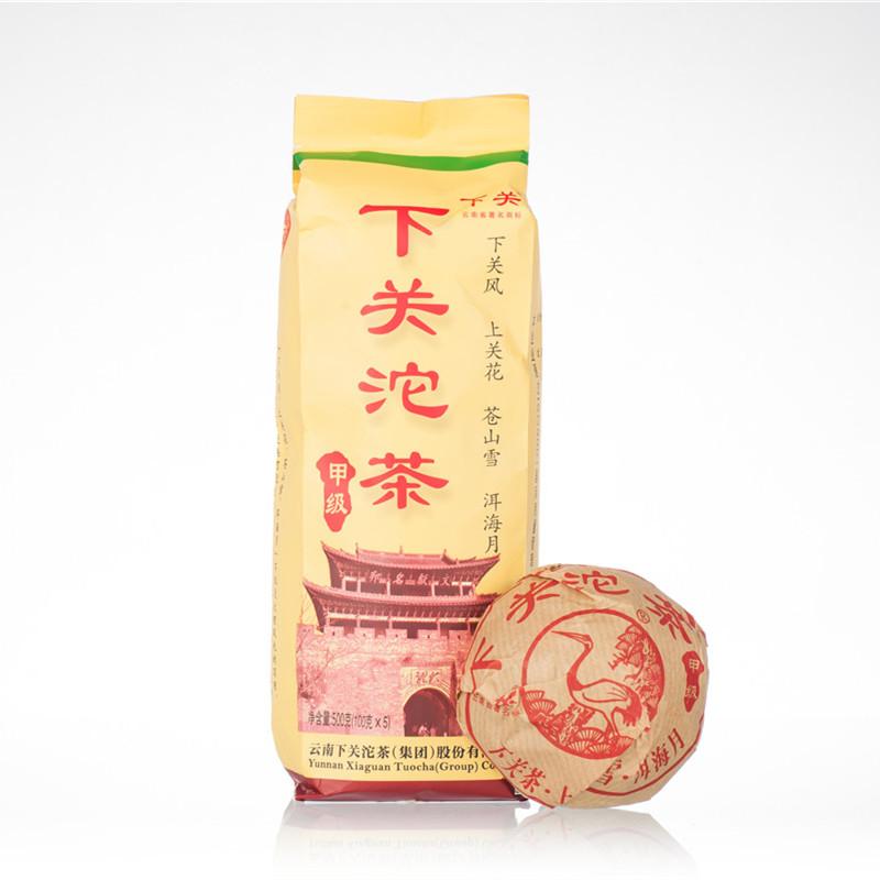 Tuo Cha xiaguan yi ji tuo cha puer tea 2005 100g raw