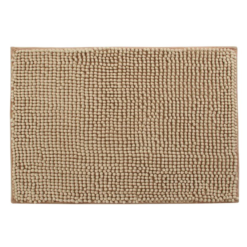 FOOJO Коричневый цвет цзяннань лист коврики сплетенный 50 80см синий нескользящие коврики