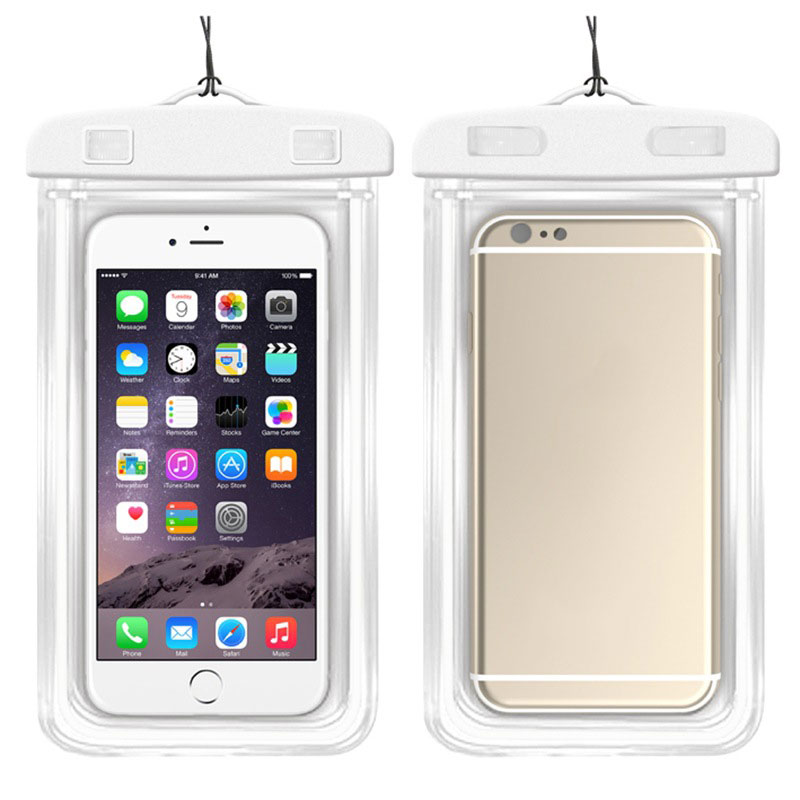 MyMei Белый цвет mymei outdoor iphone 6 samsung galaxy phone waterproof case cover dry pouch 20 10 8cm