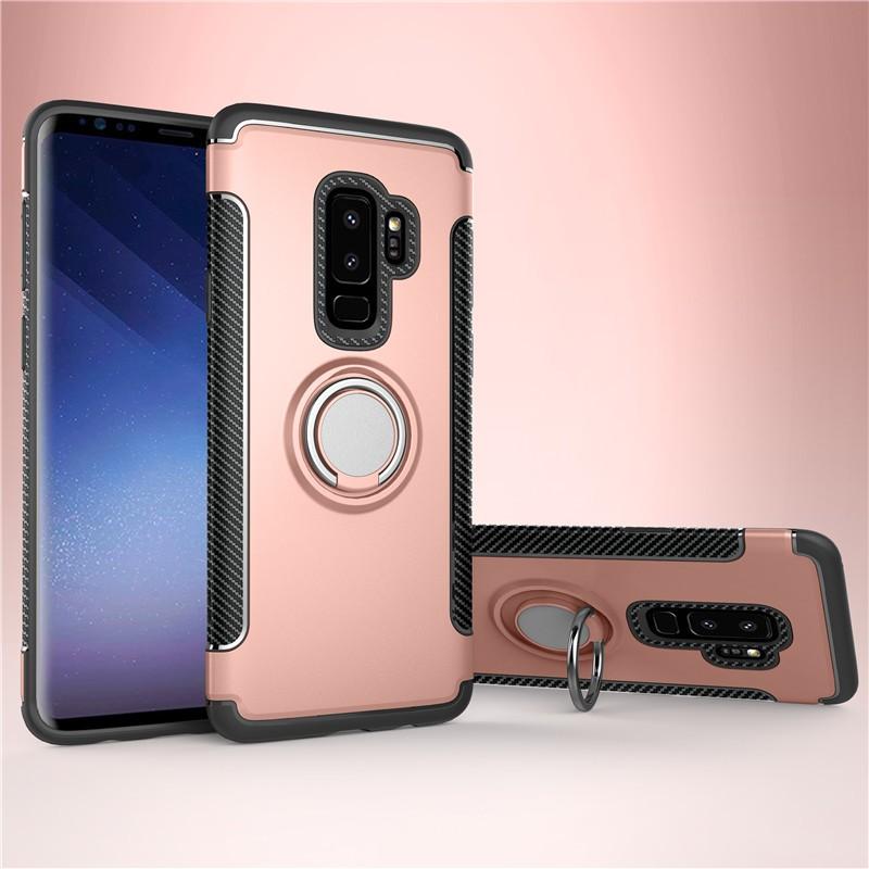 Fecoprior розовый Задняя обложка для Samsung Galaxy S9 Plus Чехол для автомобильного держателя для жестких дисков Silicon